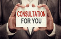 Consultation For You Royalty Free Stock Photo
