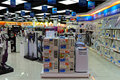 Consumer electronics appliances store and home for sale at fortress in hong kong Stock Image