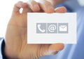 Contact information Royalty Free Stock Photo