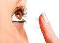 Contact Lens Stock Photos
