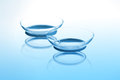 Contact lenses Royalty Free Stock Photo
