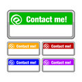 Contact me button Stock Photography