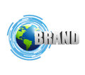 contact us brand technology Royalty Free Stock Photo