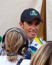 Contador wins the 91st Giro d'Italia Stock Photography