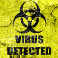 Contagion concept background with some soft smooth lines Royalty Free Stock Photography