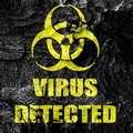 Contagion concept background with some soft smooth lines Stock Photography