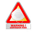 Contagion risk Royalty Free Stock Photo