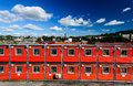 Container houses Royalty Free Stock Photography