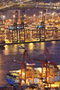 Container terminal Stock Images