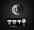 Contatore di nuovo anno Fotografia Stock