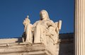 Contemplation of Justice Royalty Free Stock Photo