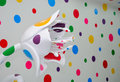Contemporary art exhibit from Yayoi Kusama