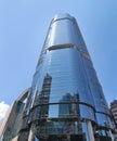 Contemporary City Skyscraper in Hong Kong Royalty Free Stock Photo