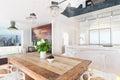 Contemporary highrise apartment condominium Royalty Free Stock Photo
