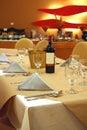 Contemporary luxury restaurant Стоковое Изображение