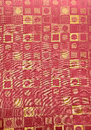 Contemporary pattern fabric Stock Image
