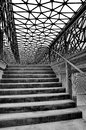 Contemporary staircase Royalty Free Stock Photo