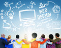Content creativity digital graphics webdesign concept concepts Royalty Free Stock Photo