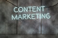 Content marketing Royalty Free Stock Photo