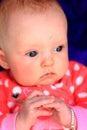 Contented Newborn Royalty Free Stock Photo