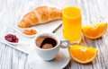 Continental Breakfast Royalty Free Stock Photo