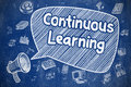 Continuous Learning - Business Concept.