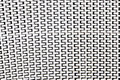 Continuous surface steel background with white and gray colour Royalty Free Stock Photo