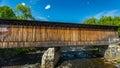 Contoocook Railroad Bridge Royalty Free Stock Photo
