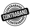 Contraband rubber stamp