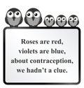 Contraception Poem