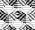 Negro y blanco patrón