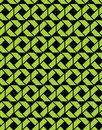 Contrast endless vector texture with green geometric figures, mo