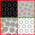 Contrasting pattern on the black and white background Royalty Free Stock Photography