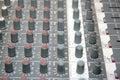 Control board sound mixer Stock Image