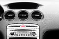 Control panel in modern car Royalty Free Stock Photo