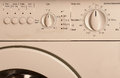 Washing machine control panel Royalty Free Stock Photo