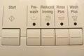 Controles que se lavan Imagen de archivo