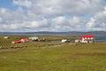 Contryside Falkland Islands Royalty Free Stock Photo