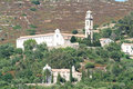 The convent near san antonio on corsica island france Stock Image