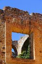 Convent ruins iv as part of the zacatecas city mexico Stock Image