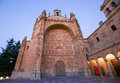 Convento de san esteban in salamanca the is a dominican monastery situated the plaza del concilio trento the city of spain Royalty Free Stock Photography