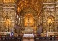 Convento de sao francisco the baroque architecture of in salvador bahia brazil Royalty Free Stock Photo