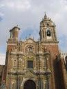 Convento Huejotzingo - Acatepec - Mexico Stock Image
