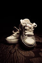 Converse all stars shoe shoes Royalty Free Stock Images