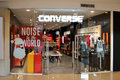 Converse shop fashion wear in gaisano mall philippines is one of the most fashionable foot and casual wear for youth around the Stock Photos