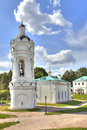Converted restored church of st george in the kolomenskoye moscow russia august state historical architectural and natural Royalty Free Stock Photo