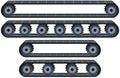 Conveyor Belt With Wheels Pack