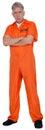Convict, Prisoner, Criminal, Jailbird, Isolated Royalty Free Stock Photo