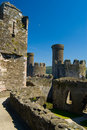 Conway Castle Royalty Free Stock Photo