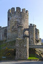 Conwy Castle - Conwy - Wales Royalty Free Stock Photo